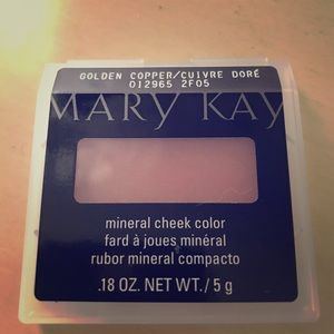"""Mary Kay Mineral Cheek Color """"Golden Copper"""""""